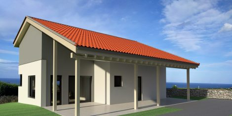 "NZEB ""Casa Queta"", Villaviciosa (Asturias)."